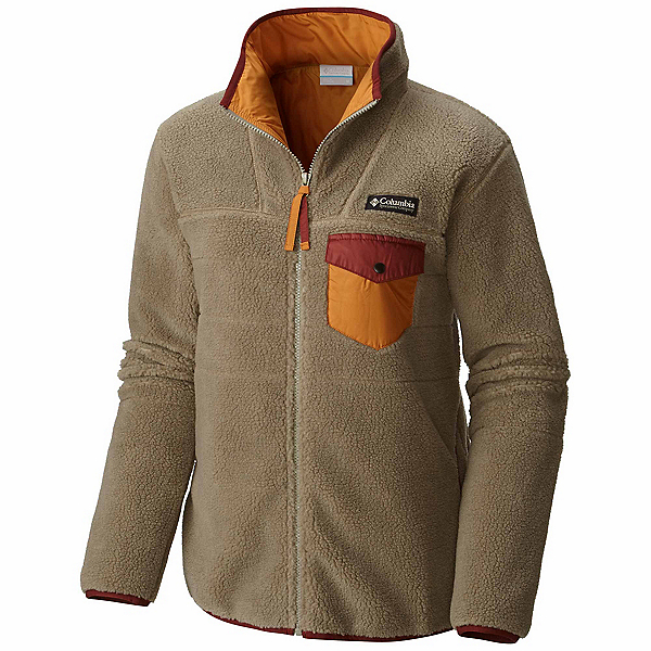 Columbia Mount Tabor Full Zip Womens Jacket, Sage, 600
