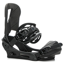 Burton Cartel Snowboard Bindings 2018, Black Matte, 256