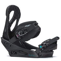 Burton Stiletto Womens Snowboard Bindings 2018, Black Matte, 256