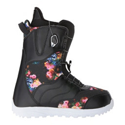 Burton Mint Womens Snowboard Boots, Black-Multi, 256