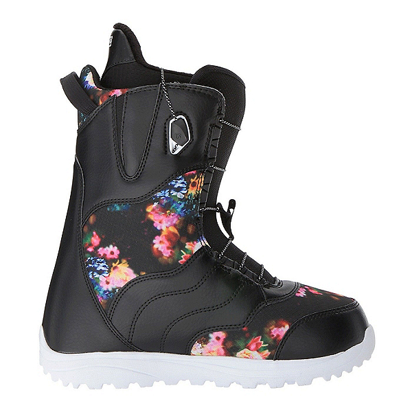 Burton Mint Womens Snowboard Boots 2018, Black-Multi, 600