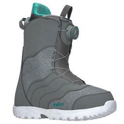 Burton Mint Boa Womens Snowboard Boots 2018, Gray, 256