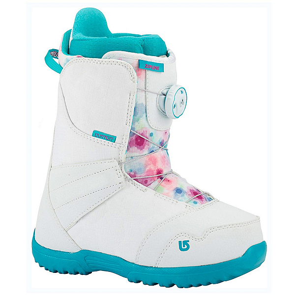 Burton Zipline Boa Girls Snowboard Boots, , 600