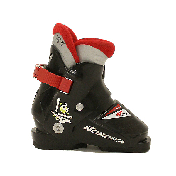 Used Nordica Super No. 1 Kids Toddler Ski Boots, , 600