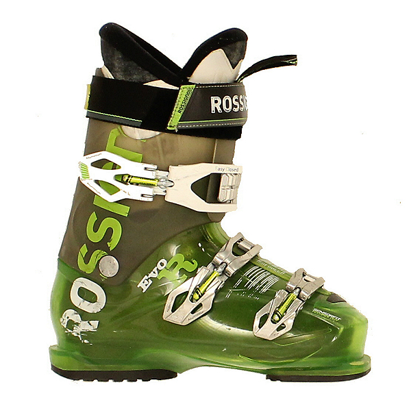 Used Mens 2015 Rossignol EVO Ski Boot Green & Black, , 600