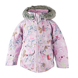 Obermeyer Taiya w/ Faux Fur Toddler Girls Ski Jacket, Snowday-Lets Play, 256