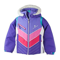 Obermeyer Sierra w/Faux Fur Toddler Girls Ski Jacket, Grapesicle, 256