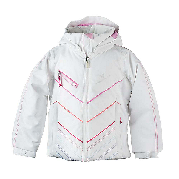 Obermeyer Sierra Toddler Girls Ski Jacket, White, 600
