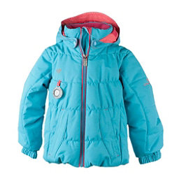 Obermeyer Marielle Toddler Girls Ski Jacket, Sparkle Blue, 256