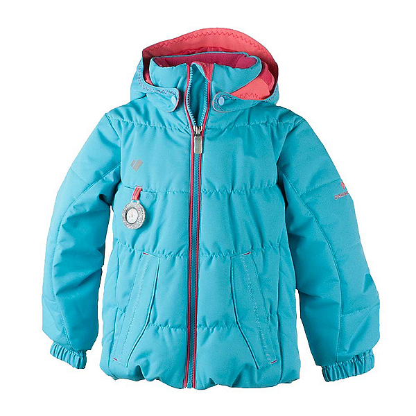 Obermeyer Marielle Toddler Girls Ski Jacket, Sparkle Blue, 600