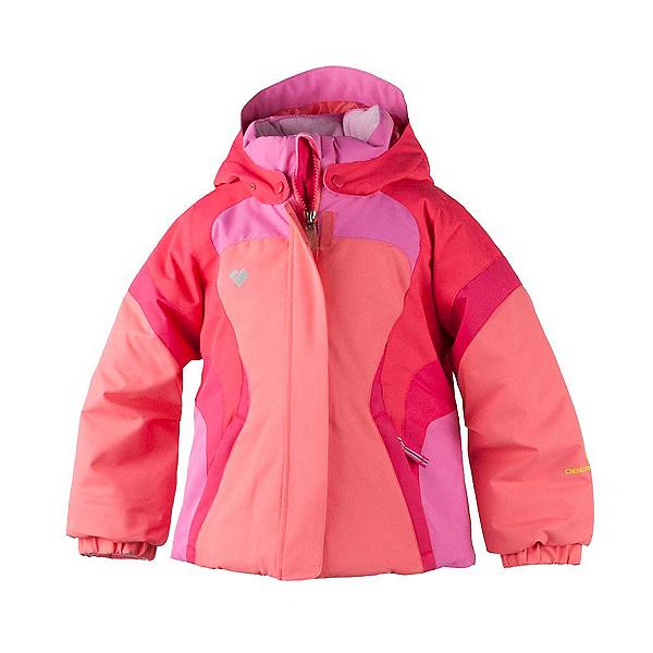 Obermeyer Alta Toddler Girls Ski Jacket, Soft Coral, 600