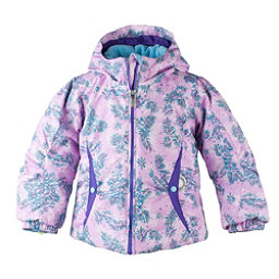 Obermeyer Crystal Toddler Girls Ski Jacket, Lavender-Blue Spruce, 256