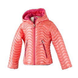 Obermeyer Comfy Toddler Girls Ski Jacket, Soft Coral, 256