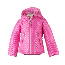 Obermeyer Comfy Toddler Girls Ski Jacket, Smitten Pink, 256