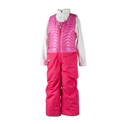 Obermeyer Ober-All Bib Toddler Girls Ski Pants, Smitten Pink, 256
