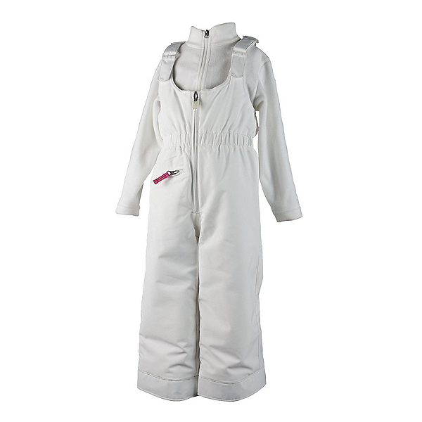 Obermeyer Snoverall Toddler Girls Ski Pants, White, 600