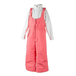 Obermeyer Snoverall Toddler Girls Ski Pants, Soft Coral, 256