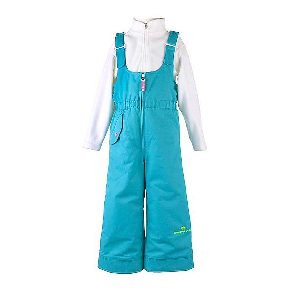 Obermeyer Snoverall Toddler Girls Ski Pants, Sparkle Blue, 600