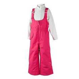 46a99adb7 Obermeyer Snoverall Toddler Girls Ski Pants, Smitten Pink, 256