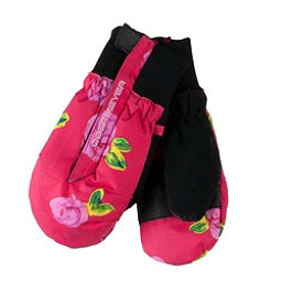 Obermeyer Thumbs Up Print Toddler Girls Mittens, Its Snowing Roses, 256