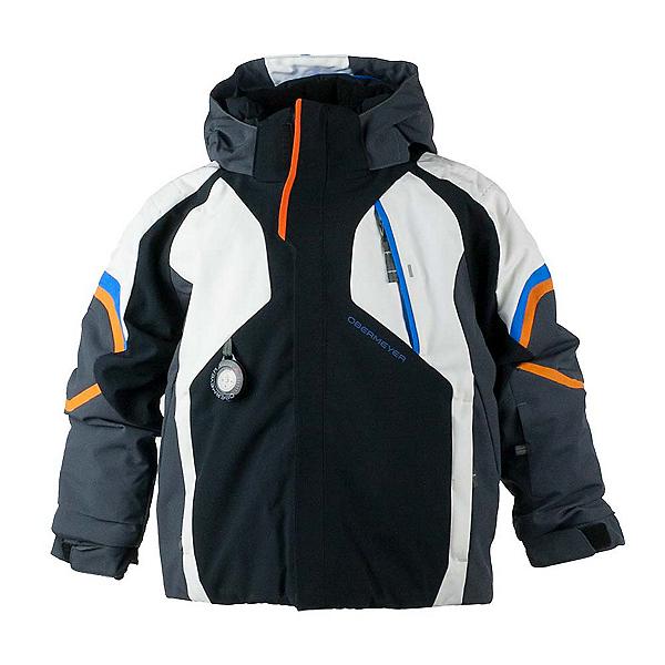 Obermeyer Patrol Toddler Ski Jacket, Black, 600