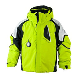 Obermeyer Patrol Toddler Ski Jacket, Green Flash, 256