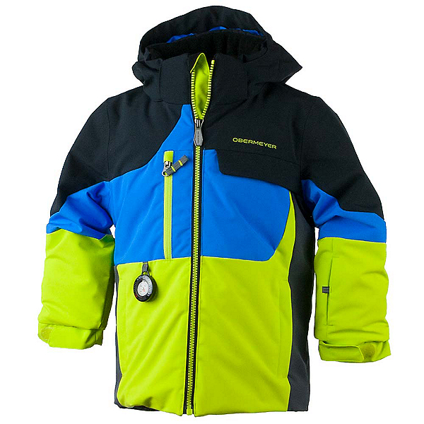 Obermeyer Torque Toddler Boys Ski Jacket, Stellar Blue, 600