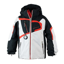 Obermeyer Super G Toddler Boys Ski Jacket, White, 256