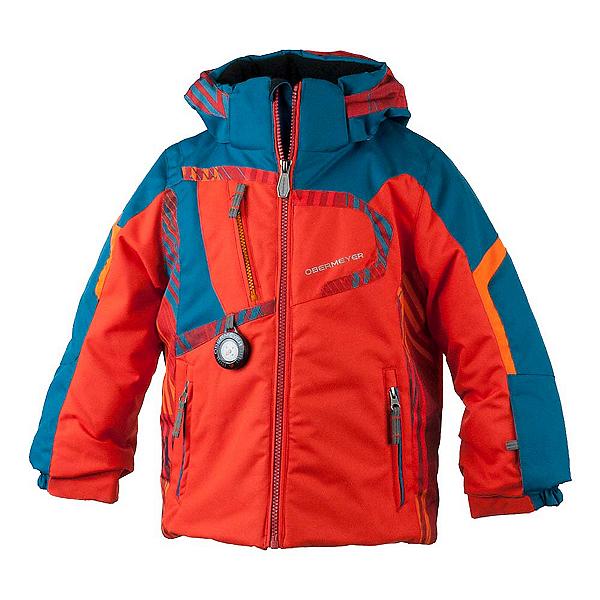 Obermeyer Super G Toddler Boys Ski Jacket, Red, 600