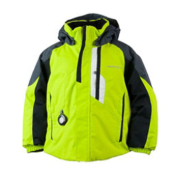 Obermeyer Meteor Toddler Ski Jacket, Green Flash, 256