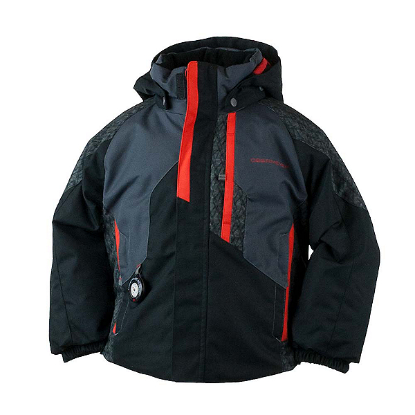 Obermeyer Meteor Toddler Ski Jacket, Black, 600