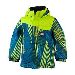Obermeyer Hawk Toddler Ski Jacket, Thunder Cove, 256