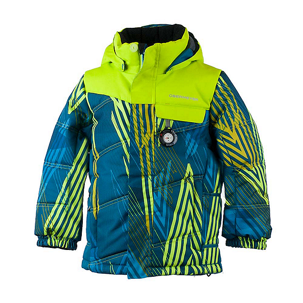 Obermeyer Hawk Toddler Ski Jacket, Thunder Cove, 600