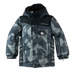 Obermeyer Hawk Toddler Ski Jacket, Gridlock Print, 256