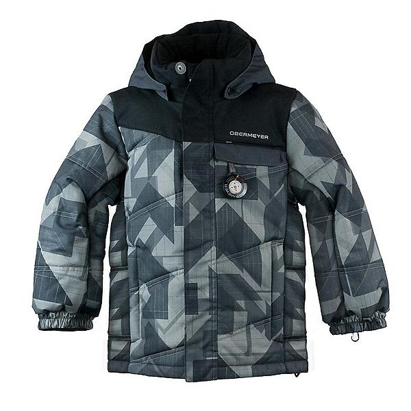 Obermeyer Hawk Toddler Ski Jacket, Gridlock Print, 600
