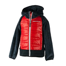 Obermeyer Gamma Hybrid Insulator Toddler Boys Midlayer, Red, 256