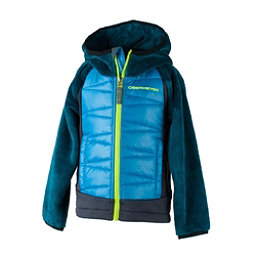 Obermeyer Gamma Hybrid Insulator Toddler Boys Midlayer, Polar Blue, 256