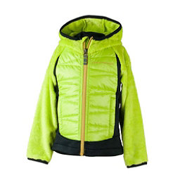 Obermeyer Gamma Hybrid Insulator Toddler Boys Midlayer, Green Flash, 256