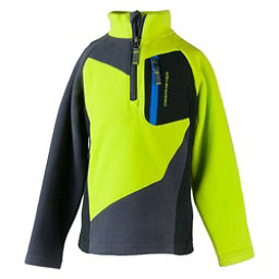 Obermeyer Pulsar Fleece Toddler Boys Midlayer, Green Flash, 256