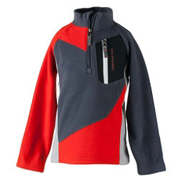 Obermeyer Pulsar Fleece Toddler Boys Midlayer, Red, 256