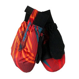 Obermeyer Thumbs Up Print Toddler Boys Mittens, Thunder Red, 256