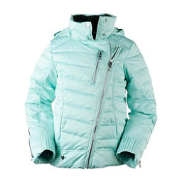 Obermeyer Aisha Girls Ski Jacket, Sea Glass, 256