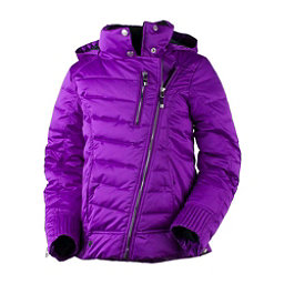 Obermeyer Aisha Girls Ski Jacket, Violet Vibe, 256