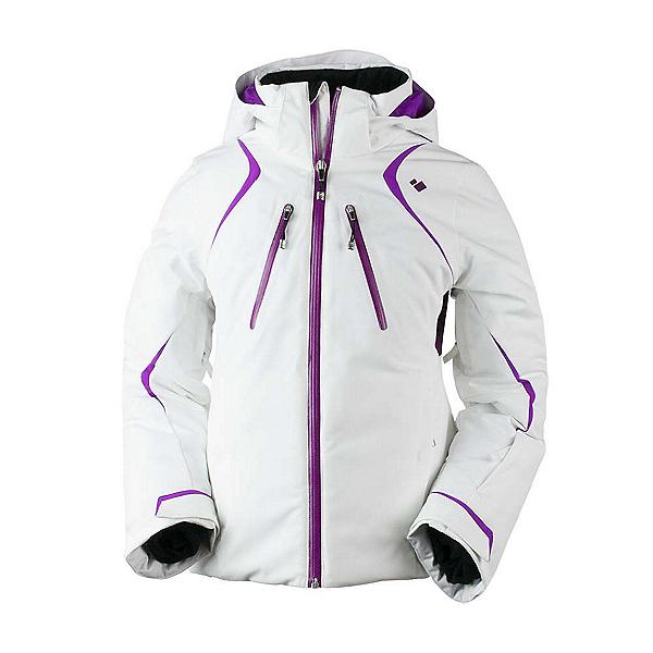 Obermeyer Gray Girls Ski Jacket, , 600