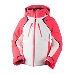 Obermeyer Gray Girls Ski Jacket, Popstar Pink, 256