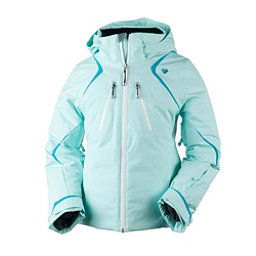 Obermeyer Gray Girls Ski Jacket, Sea Glass, 256