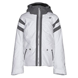 Obermeyer Dyna Girls Ski Jacket, White, 256
