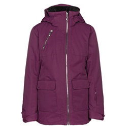 Obermeyer June Girls Ski Jacket, Metal Magenta, 256