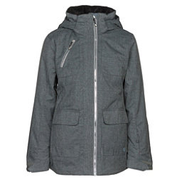 Obermeyer June Girls Ski Jacket, Light Heather Grey, 256