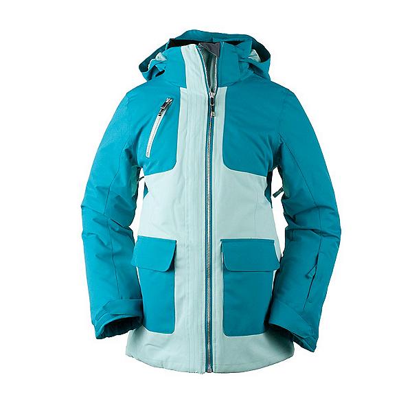 Obermeyer June Girls Ski Jacket, Sea Glass, 600